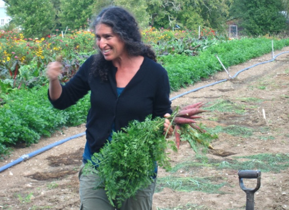 The Kale Queen at Arcadian Fields Farm