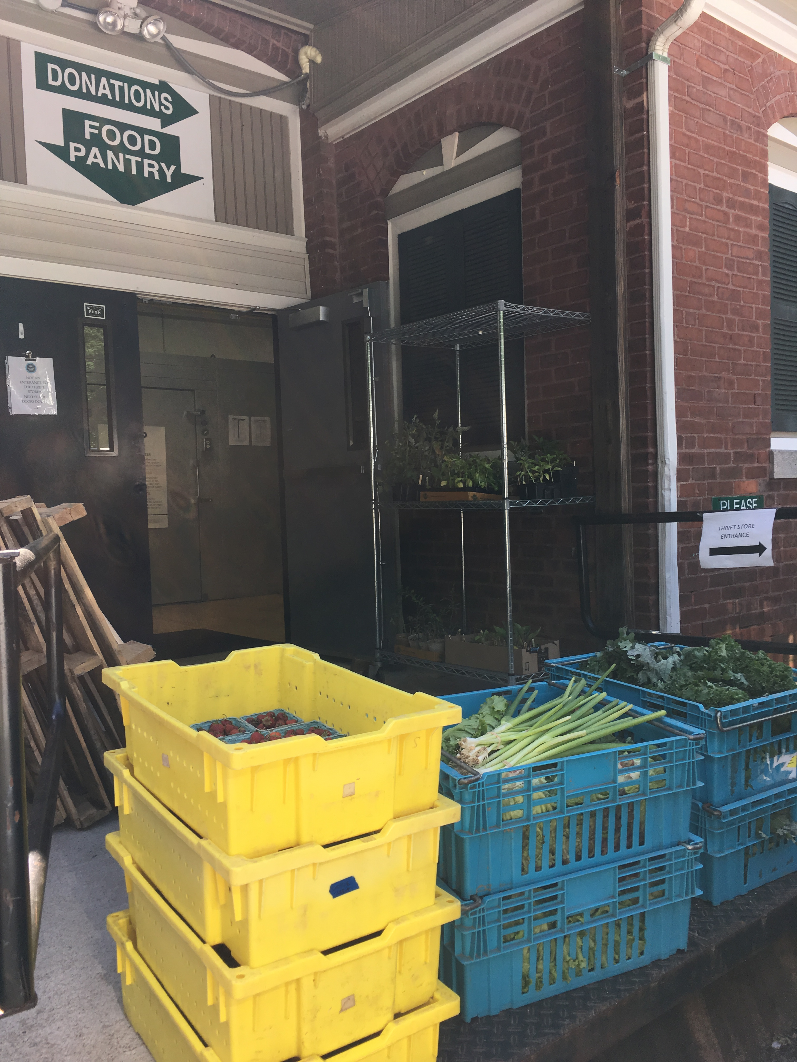 Rhode Island's Network Of Food Pantries Prepare To Meet Demand In Light Of Upcoming Changes To SNAP Program