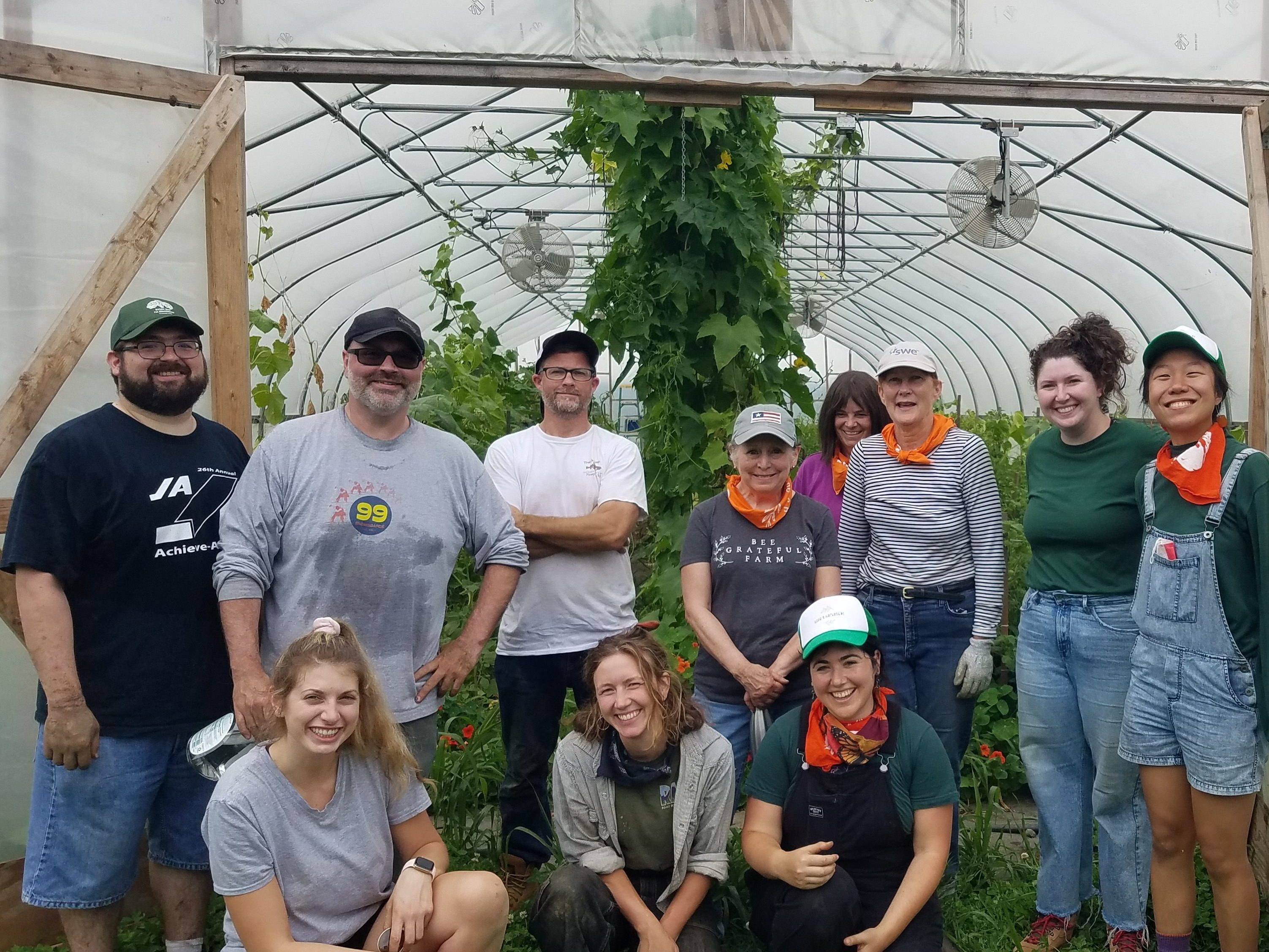Chefs from the Newport Restaurant Group Join Hope's Harvest in the Field